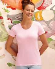 61378 Fruit Of The Loom Lady-Fit Crew Neck T-Shirt